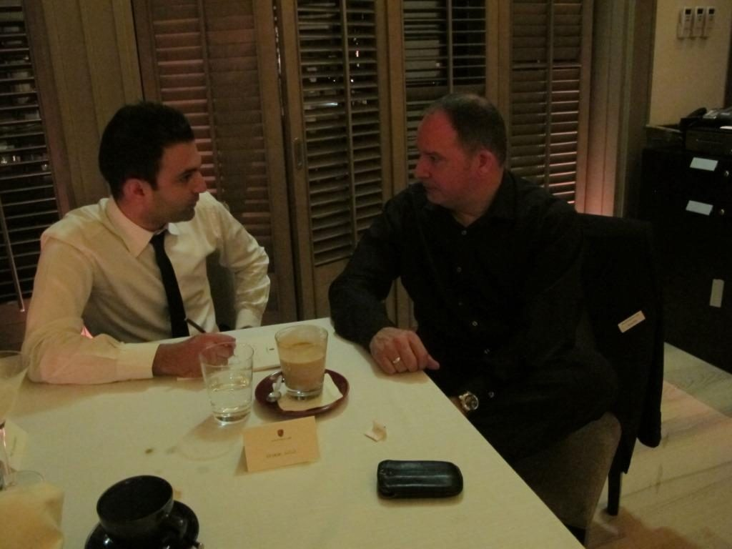 مصاحبه محسن ارژنگ با مدیرعامل پورشه