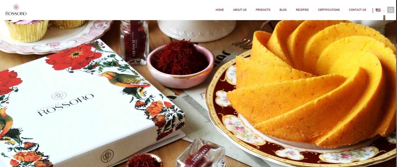 طراحی سایت Rossoro