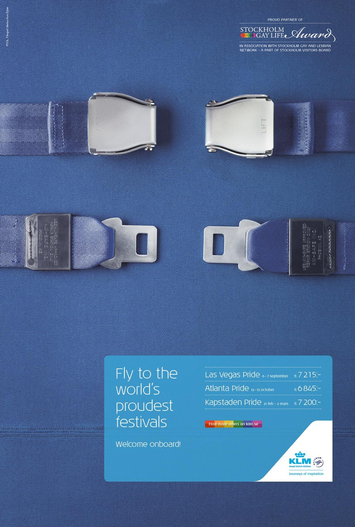 تبلیغ KLM